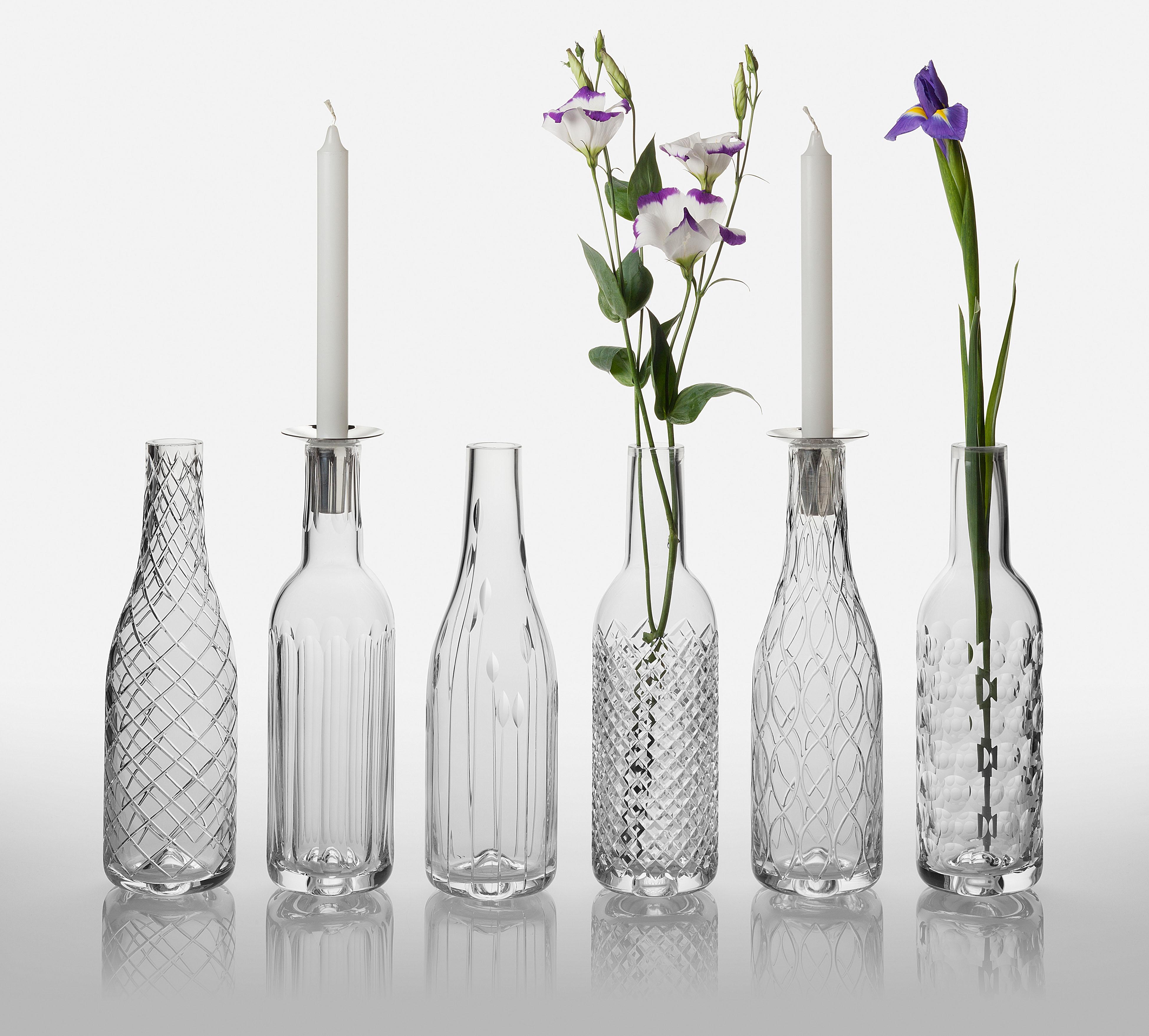 the comeback cut glass gets a modern update  matthewhaguecom - cumbria crystal's bottle vase