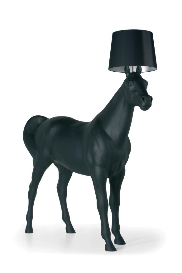 Moooi's AMAZING Horse lamp