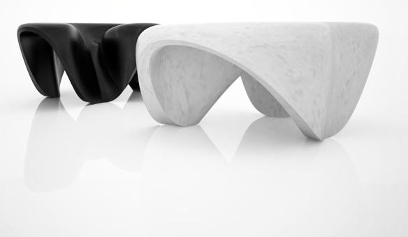 Zaha Hadid's Mercuric Table