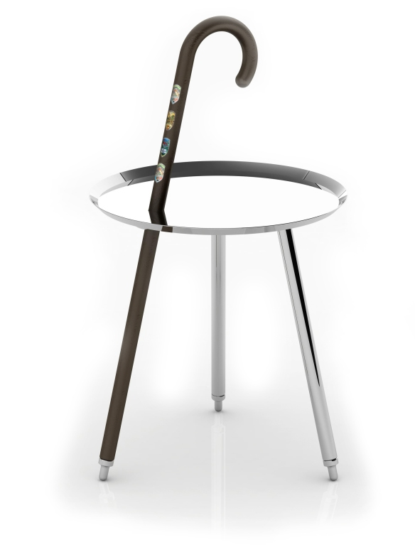 Marcel Wanders's Urban Hike table
