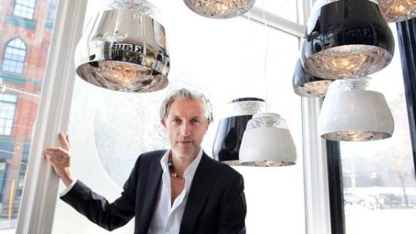 Designer Marcel Wanders. Photo by Moe Doiron