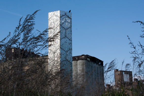 Elevator B designed by students in Buffalo, New York