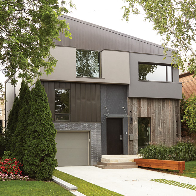 Great Spaces Four of Torontos Boldest Boxiest New Homes