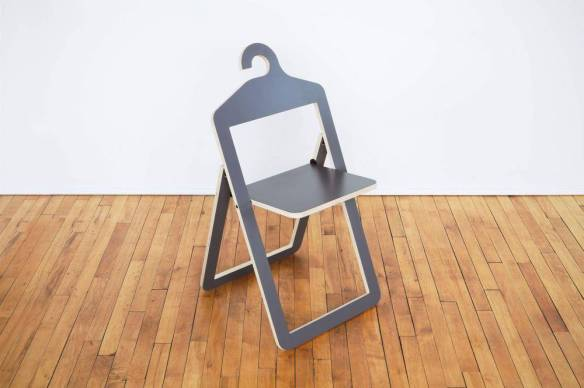 At once a chair and a hanger