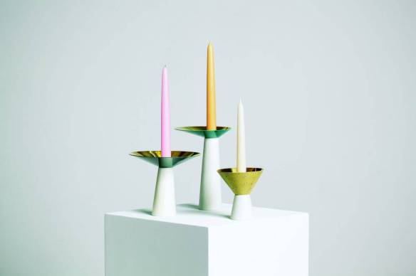 Candle holders designed by Lukas Peet