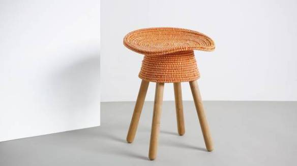 Harry Allen's colourful stools for Umbra Shift
